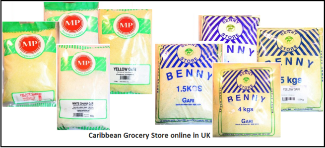 Caribbean grocery store online in UK